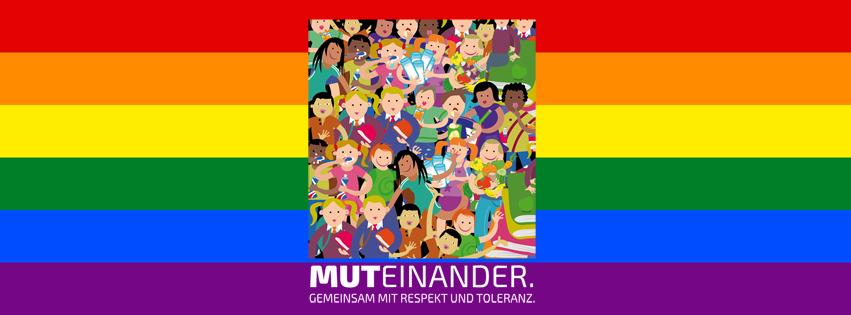 Muteinander. Gemeinsam mit Respekt und Toleranz.