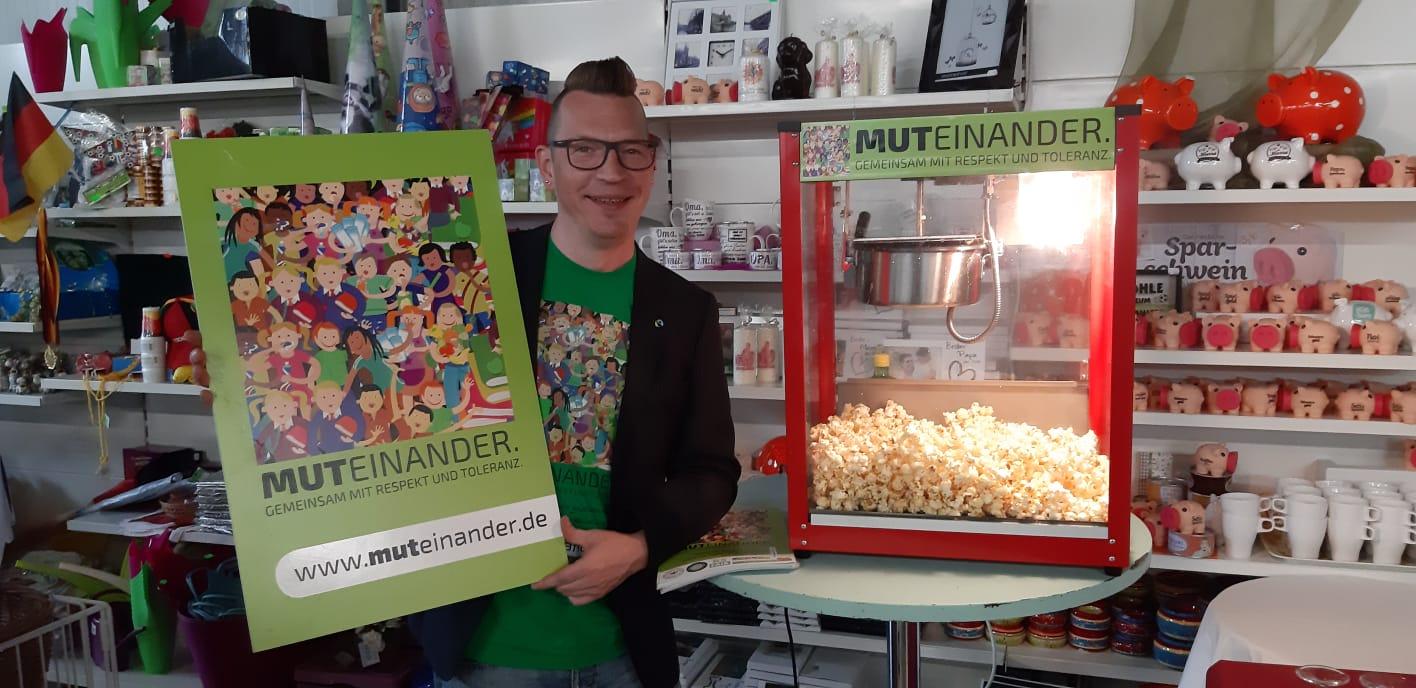 Popcorn Kerzenhaus Hasselt. Foto: Andrea Bloemen